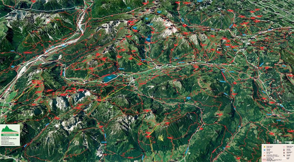 Tannheimer Tal Karte.Freizeitangebot ǀ Pension Bergheim In Tannheim Tirol